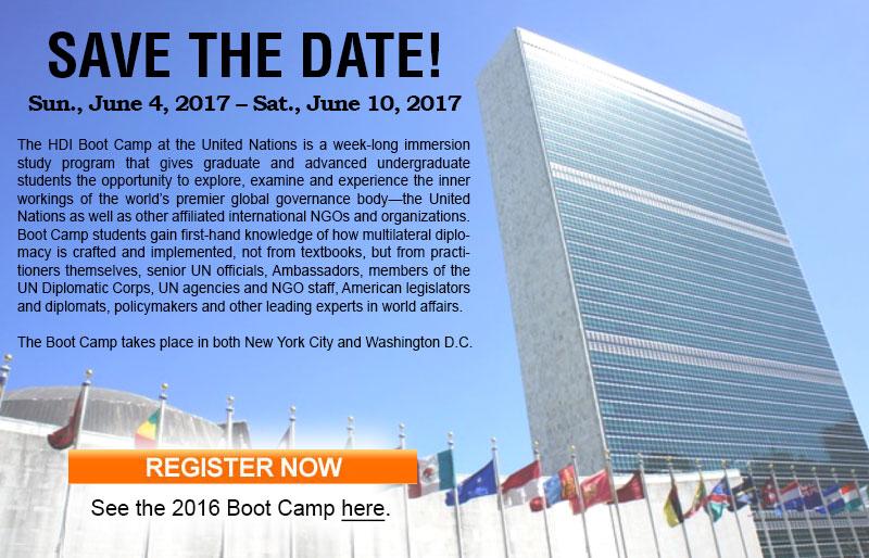 The Humpty Dumpty Institute Presents the UN Boot Camp 2017