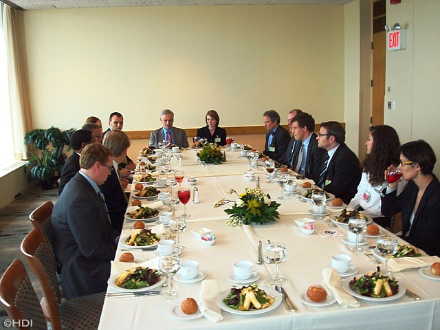 Delegates Dining Room United Nations Part   19: 26th Congressional Staff  Delegation To United Nations Part 52