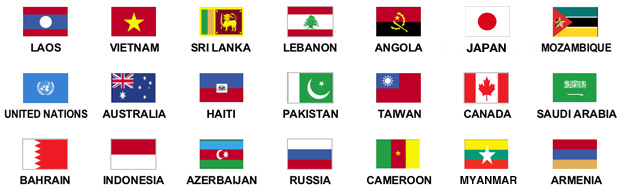 Countries HDI works with