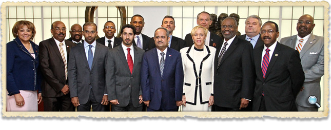 Delegation of Presidents from Historically Black Colleges