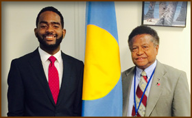 Four Undergrads benefit from HDI's Special Internship Program arranging summer jobs at Diplomatic Missions at the United Nations.