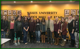 "HDI Concludes Academic Semester with Lecture on ""Voting Around the World"" at Wilkes University"