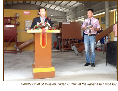 HDI Press Release, Expanded Production at the Mushroom Center in Quang Tri