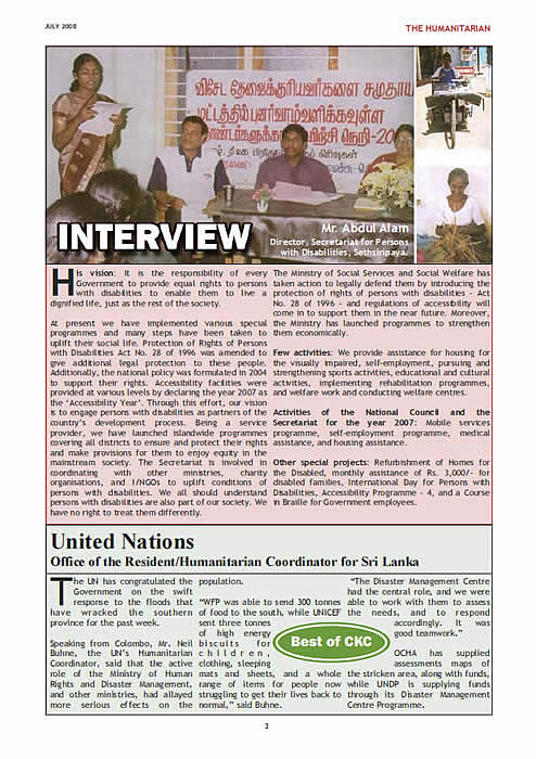 The Humanitarian Page 3