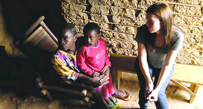 Mandy Moore in Cameroon