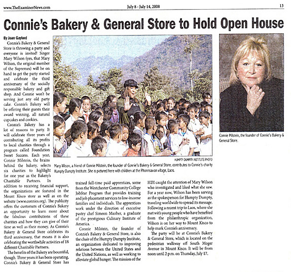 Connie's Bakery & General Store to Hold Open House