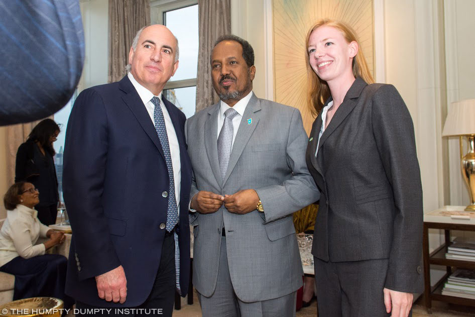 The Humpty Dumpty Institute - Reception for President of Somalia
