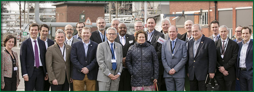 Delegation at ExxonMobile Refinery